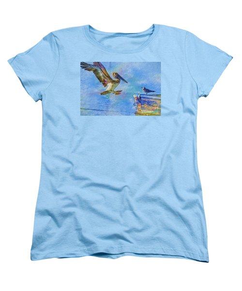 Move Over Women's T-Shirt (Standard Cut) by Deborah Benoit