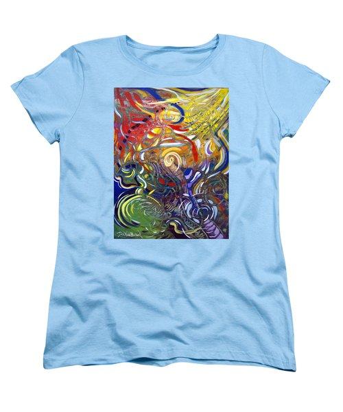 Moving Color Women's T-Shirt (Standard Cut)