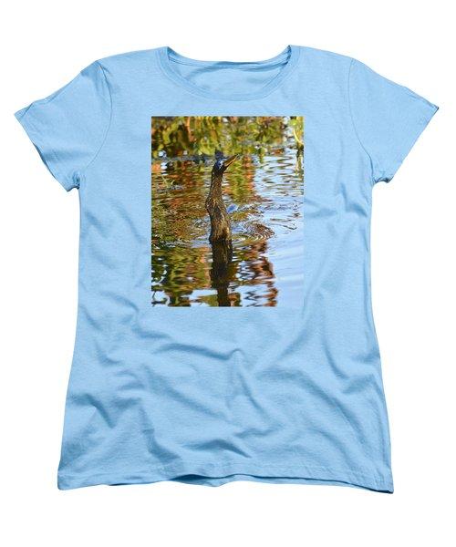 Moving On Down Women's T-Shirt (Standard Cut) by Carol Bradley