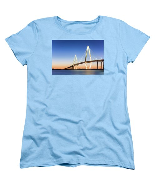 Moving Yet Still Women's T-Shirt (Standard Cut) by Jon Glaser