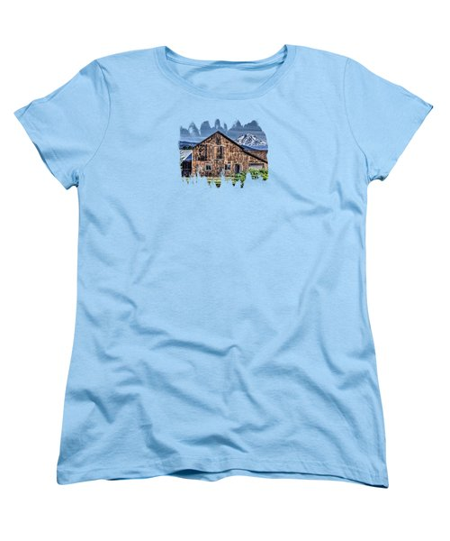 Mt. Adams Women's T-Shirt (Standard Cut) by Thom Zehrfeld