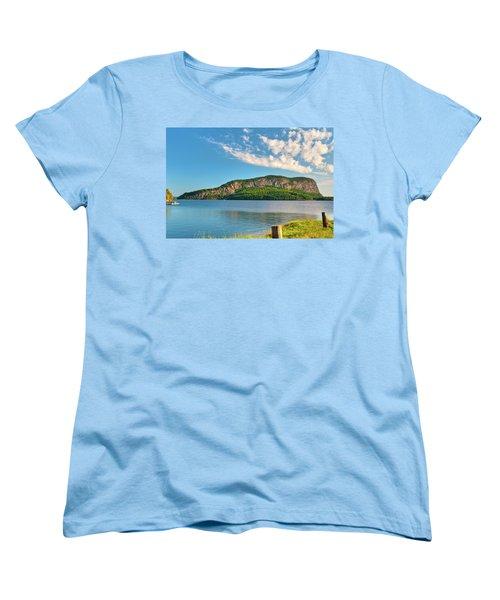 Mt Kineo 1504 Women's T-Shirt (Standard Cut) by Guy Whiteley