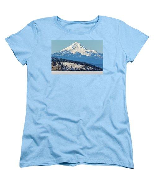 Women's T-Shirt (Standard Cut) featuring the photograph Mt. Mcloughlin by Marc Crumpler