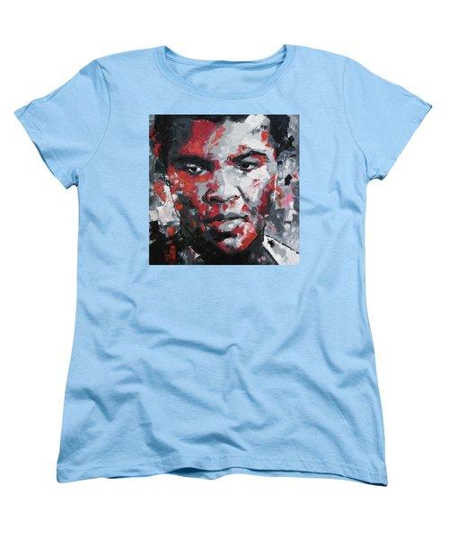 Muhammad Ali II Women's T-Shirt (Standard Cut) by Richard Day