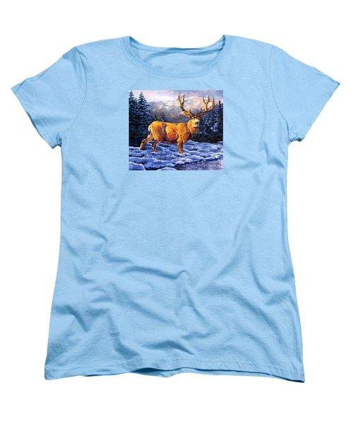 Mule Deer 2 Women's T-Shirt (Standard Cut) by Tim Gilliland