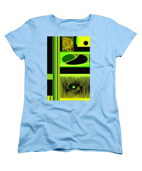 Mum Abstract 5 Women's T-Shirt (Standard Cut) by Brooks Garten Hauschild