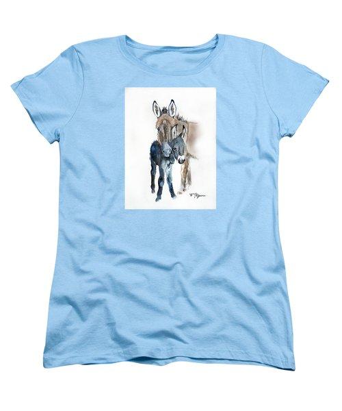 Mummy Donkey Women's T-Shirt (Standard Cut)