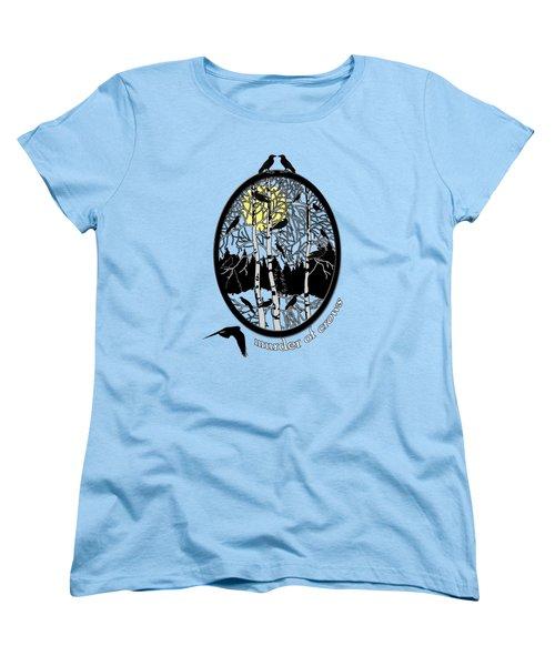 Murder Of Crows Women's T-Shirt (Standard Cut)