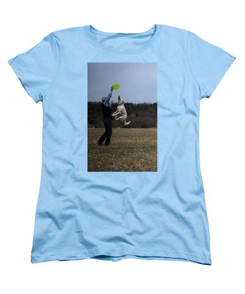 Muscles  Women's T-Shirt (Standard Cut) by Patricia Olson