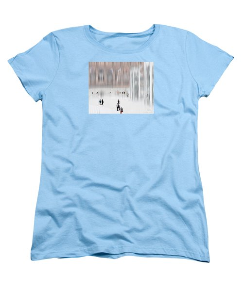 Museum Of Nothing Women's T-Shirt (Standard Cut) by Pedro L Gili