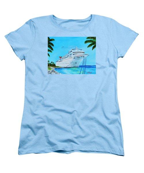 My Carnival Cruise Women's T-Shirt (Standard Cut) by Lloyd Dobson