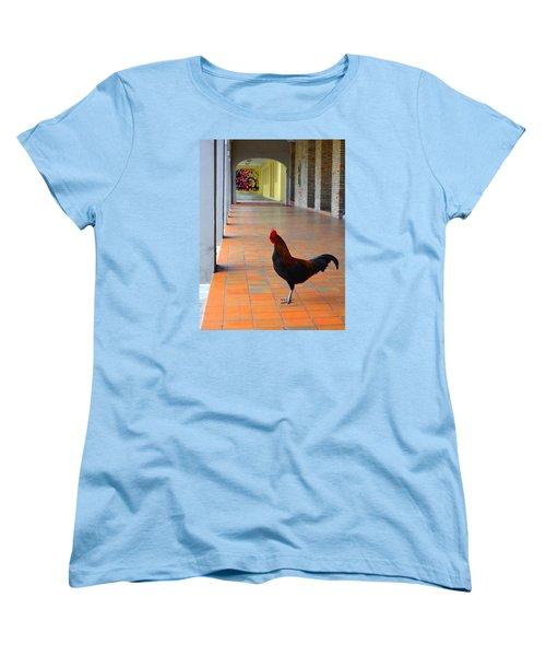 My Colonnade Women's T-Shirt (Standard Cut) by Richard Ortolano