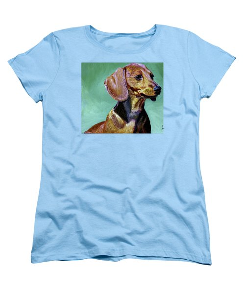 My Daschund Women's T-Shirt (Standard Cut) by Stan Hamilton