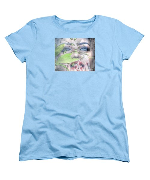 My Green Lady Women's T-Shirt (Standard Cut) by Yury Bashkin