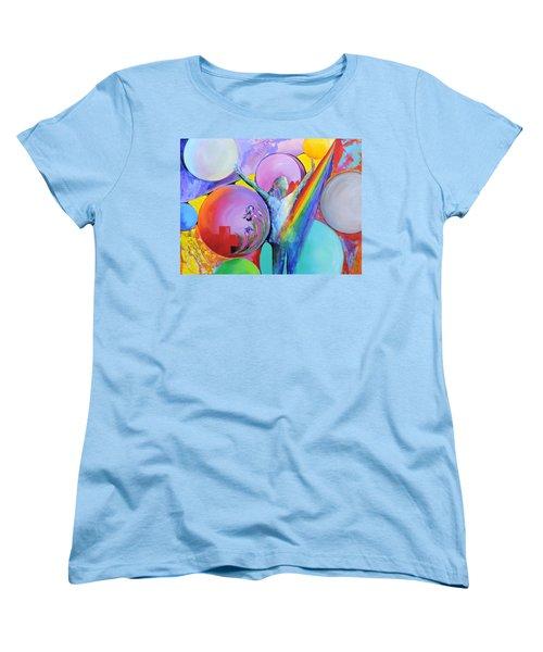 My Name Is Love. Women's T-Shirt (Standard Cut) by Jodie Marie Anne Richardson Traugott          aka jm-ART