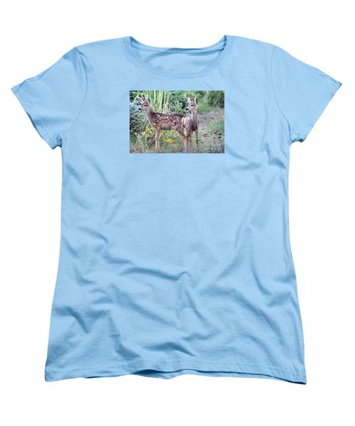 Me And My Shadow  Women's T-Shirt (Standard Cut)