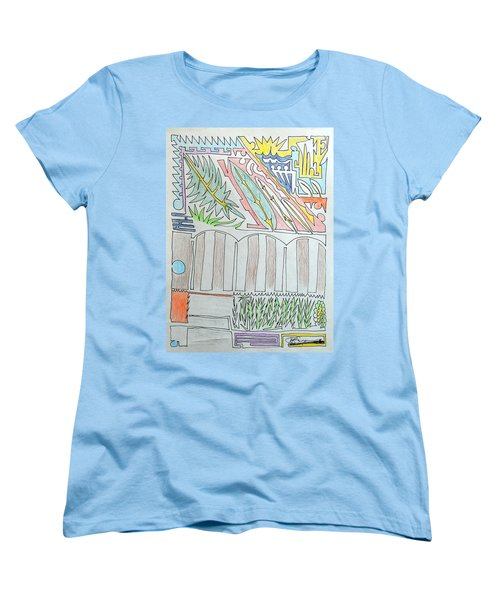 My Side Yard Women's T-Shirt (Standard Cut) by J R Seymour
