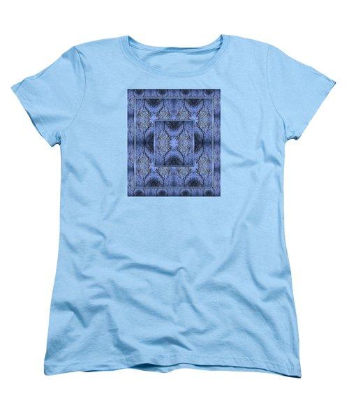 Women's T-Shirt (Standard Cut) featuring the photograph Mystery Blue by Joy Nichols