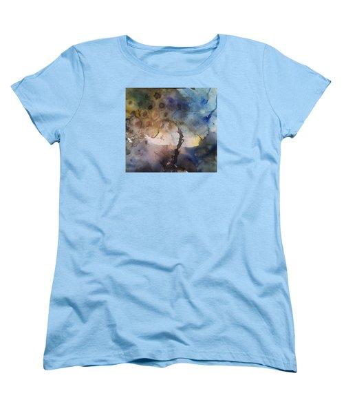 Mystery Tree Women's T-Shirt (Standard Cut) by Becky Chappell