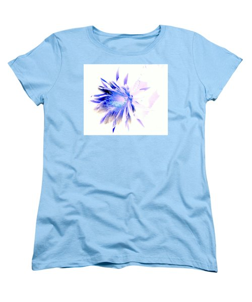 Mystical Phenomenoms Of The Southwest Cactus Orchid Women's T-Shirt (Standard Cut) by Antonia Citrino