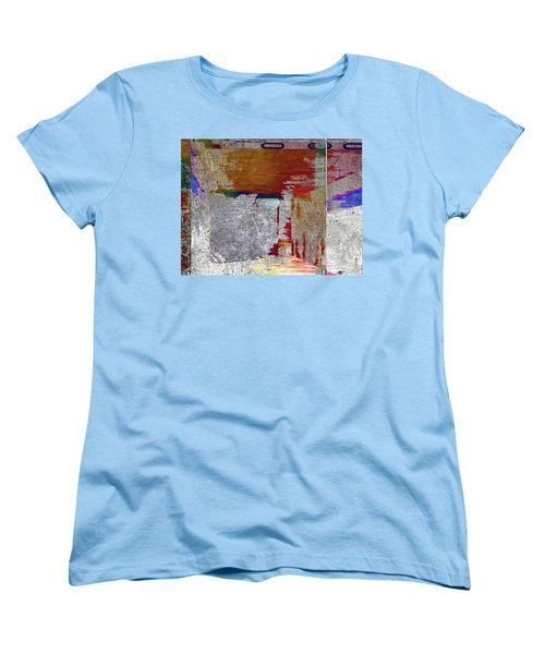 Women's T-Shirt (Standard Cut) featuring the mixed media Name This Piece by Tony Rubino