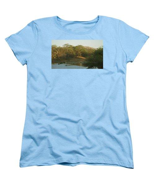 Namibian Waterway Women's T-Shirt (Standard Cut) by Ernie Echols