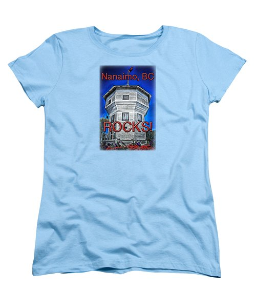 Nanaimo Bastion Women's T-Shirt (Standard Cut) by Richard Farrington