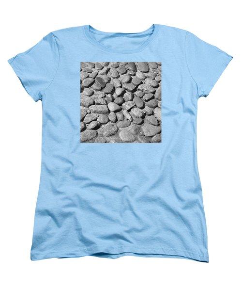 Nantucket Cobblestones Women's T-Shirt (Standard Cut) by Charles Harden