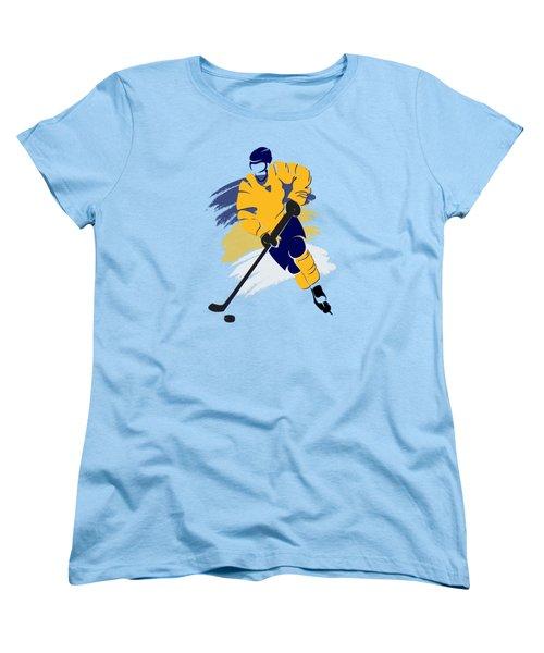 Nashville Predators Player Shirt Women's T-Shirt (Standard Cut) by Joe Hamilton