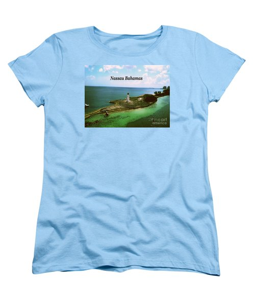 Women's T-Shirt (Standard Cut) featuring the photograph Nassau by Gary Wonning
