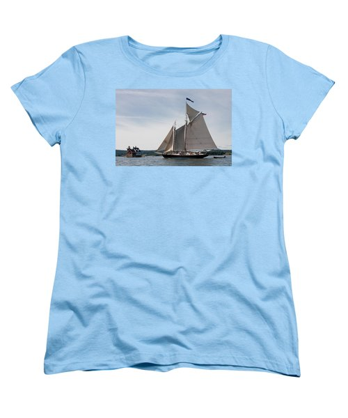 Nathaniel Bowditch 4 Women's T-Shirt (Standard Cut) by Brent L Ander