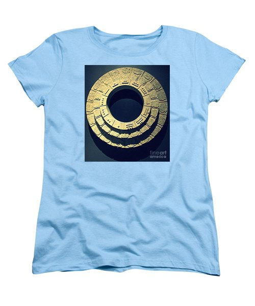 National Museum Of The American Indian 10 Women's T-Shirt (Standard Cut) by Randall Weidner