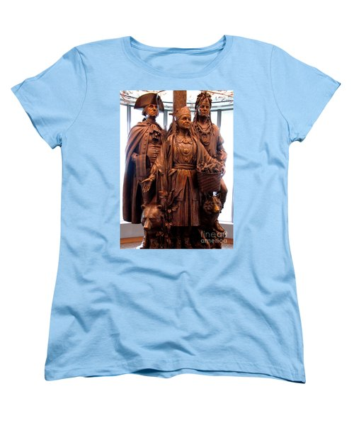 National Museum Of The American Indian 8 Women's T-Shirt (Standard Cut) by Randall Weidner