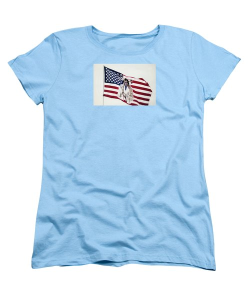 Native American Flag Women's T-Shirt (Standard Cut)