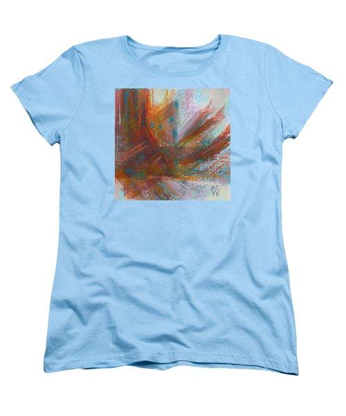 Native Dancer Women's T-Shirt (Standard Cut) by Susan Woodward