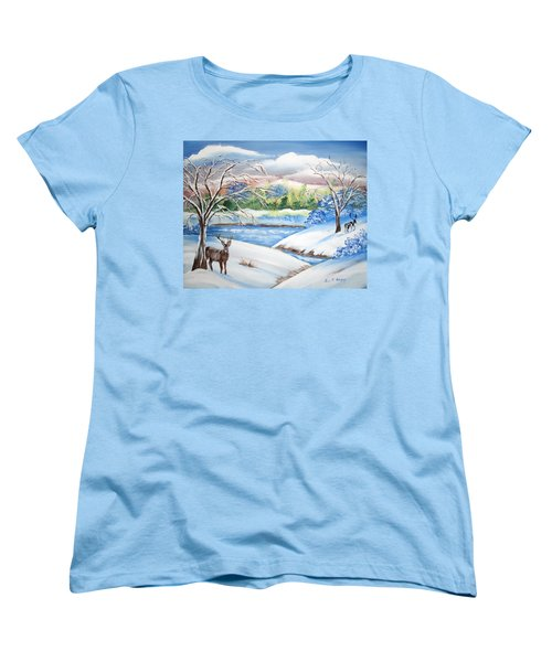 Natural Beauty Women's T-Shirt (Standard Cut) by Luis F Rodriguez