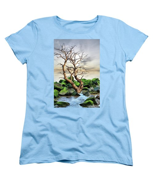 Women's T-Shirt (Standard Cut) featuring the photograph Natural Surroundings by Angel Jesus De la Fuente