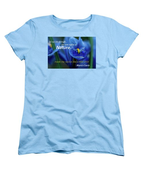 Nature208 Women's T-Shirt (Standard Cut) by David Norman