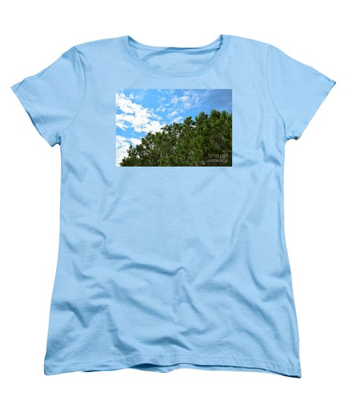 Women's T-Shirt (Standard Cut) featuring the photograph Nature's Beauty - Central Texas by Ray Shrewsberry