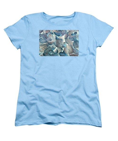 Nature's Tracery Women's T-Shirt (Standard Cut) by Wayne Sherriff