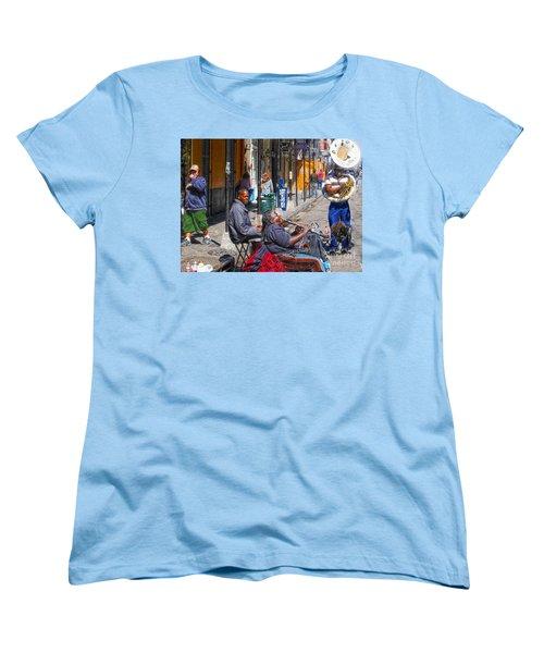 Nawlins Women's T-Shirt (Standard Cut) by John Kolenberg