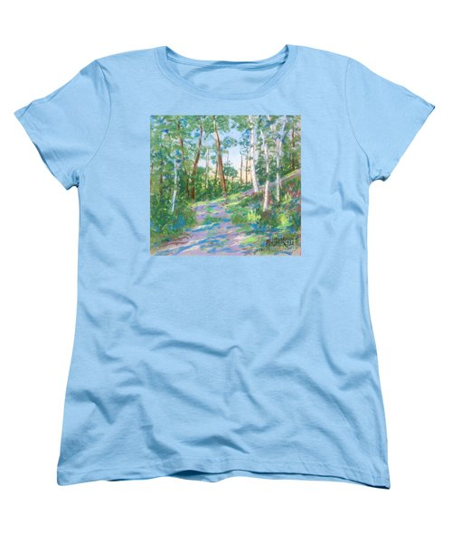 Near The Dingle Tower Halifax  Women's T-Shirt (Standard Cut) by Rae  Smith