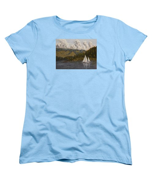 Nearing The Point Women's T-Shirt (Standard Cut) by Alan Mager