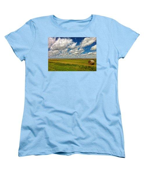 Nebraska Wheat Fields Women's T-Shirt (Standard Cut)