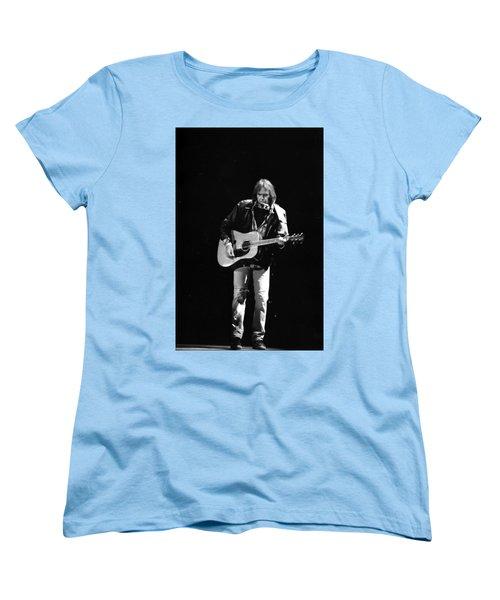 Neil Young Women's T-Shirt (Standard Cut) by Wayne Doyle