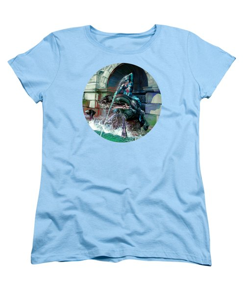 Neptune Nymph 2 Women's T-Shirt (Standard Cut) by Robert G Kernodle