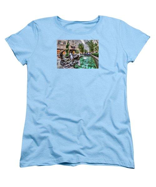 Nereid Women's T-Shirt (Standard Cut) by Rafael Quirindongo