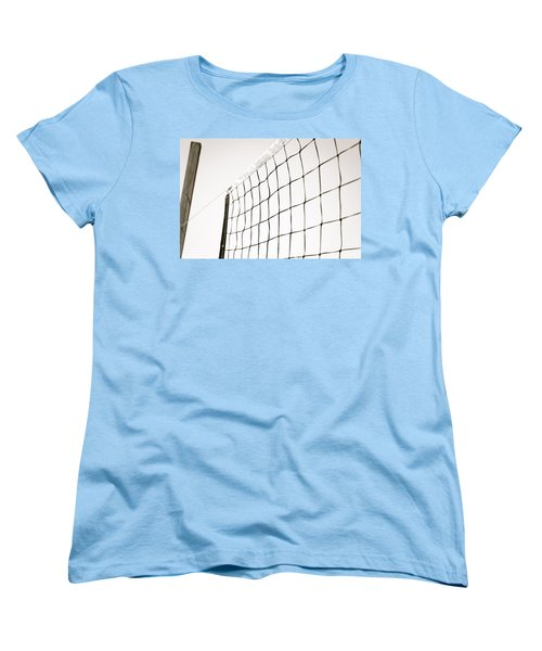 Women's T-Shirt (Standard Cut) featuring the photograph Netted by Wade Brooks