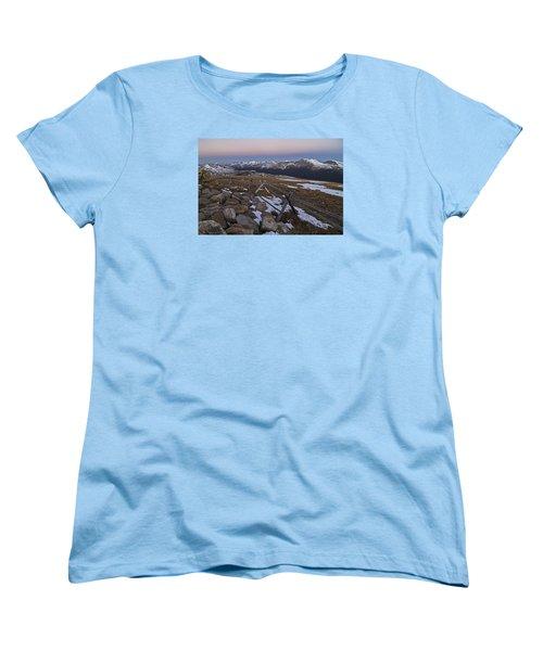 Women's T-Shirt (Standard Cut) featuring the photograph Never Summer Range by Gary Lengyel