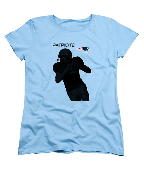 New England Patriots Football Women's T-Shirt (Standard Fit)